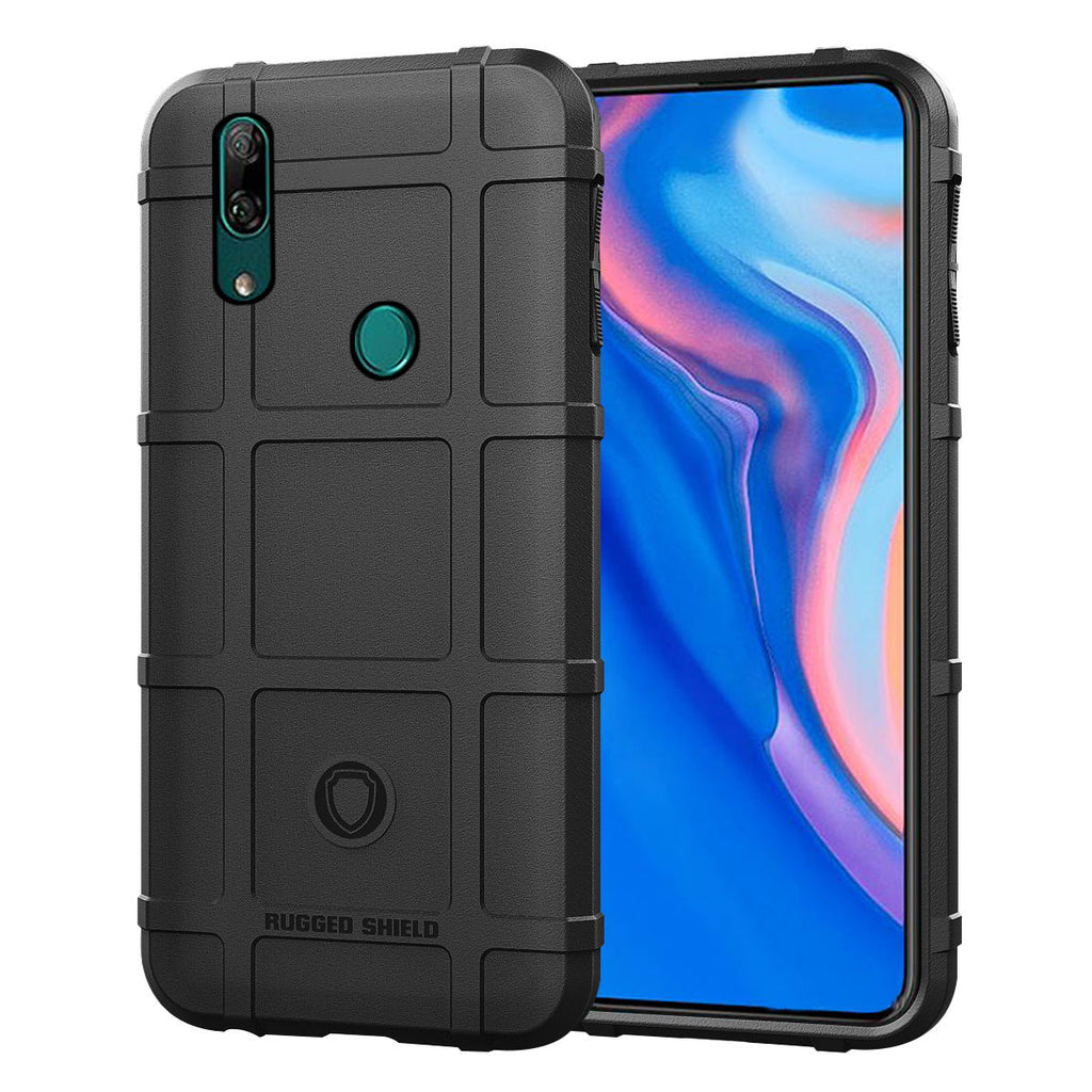 HUAWEI Y9 PRIME 2019 Case Heavy Duty Bumper Protective Phone Cover Black