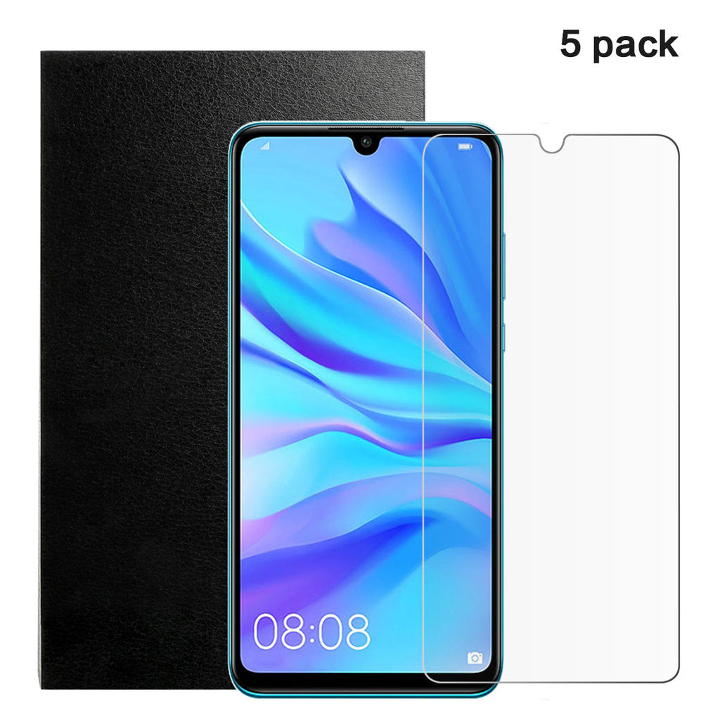 Huawei Nova 4E Screen Protector Impact & Scratch Protection HD Tempered Glass 5 Pack
