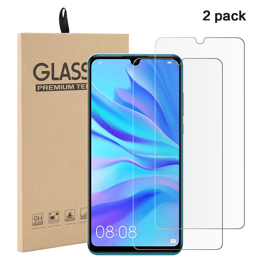 2 Pack Huawei Nova 4E Screen Protector Tempered Glass Bubble-free Anti Scratch
