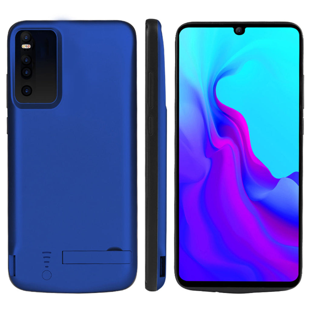 Huawei P30 5000mAh Battery Case Rechargeable Extended Battery Protective Case Blue