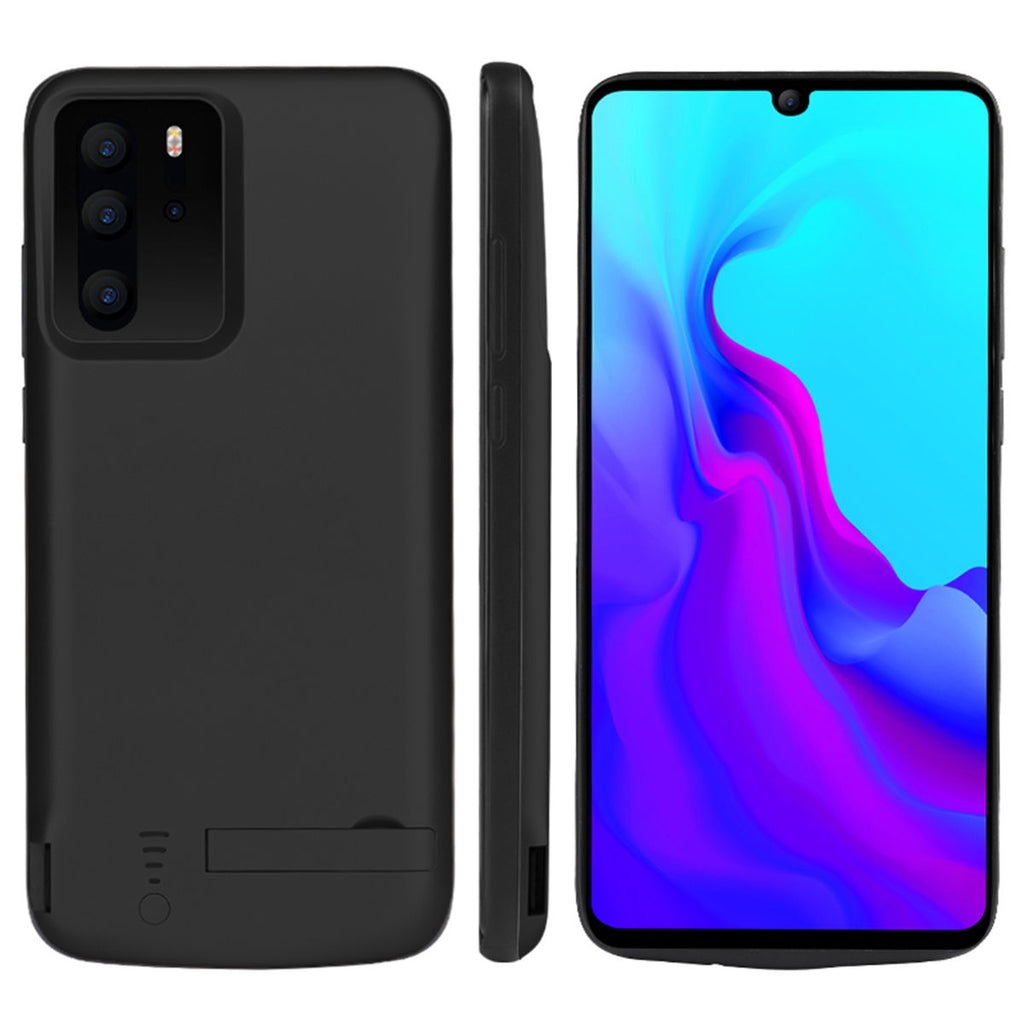 Huawei P30 Pro 5000mAh Extended Battery Case Portable Power Bank Black