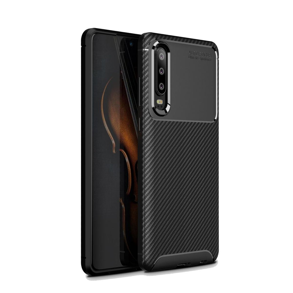 Huawei P30 Pro TPU Phone Case Slim Drop-proof Back Cover Black