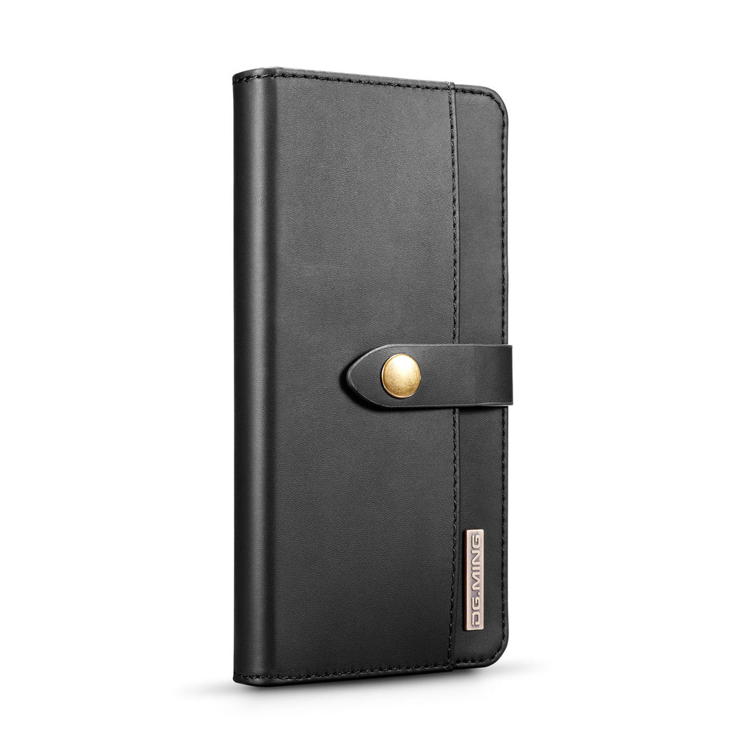 Huawei P30 Pro Case PU Leather Wallet with ID&Credit Cards Pocket Black