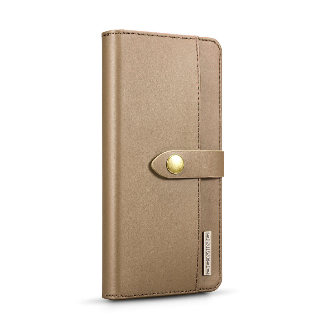 Huawei P30 Pro PU Wallet Case Detachable Phone Protective Cover Card Slots Brown