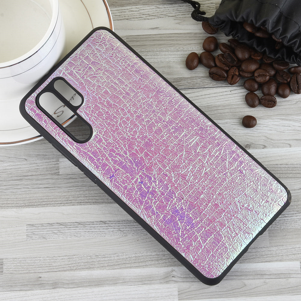 Huawei P30 Pro Soft TPU Bumper Case Ultra-Thin Flexible Colorful Cover Purple