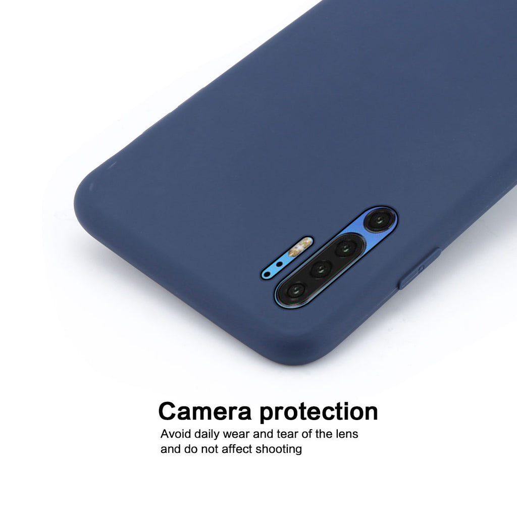 Anti Drop P30 Pro Protective Cover Case TPU Bumper Candy Dark Blue