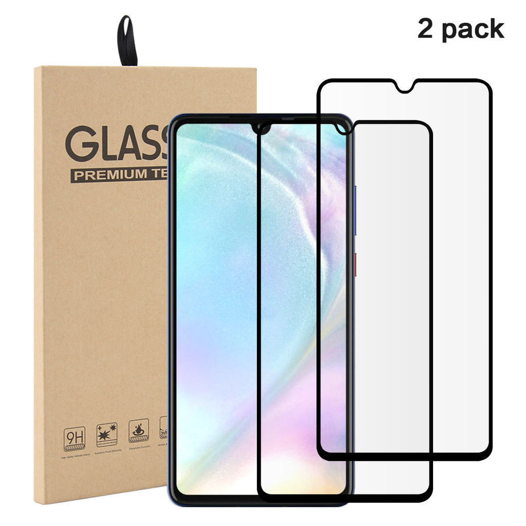 Huawei P30 Tempered Glass Screen Protector Anti-Scratch 2Pack