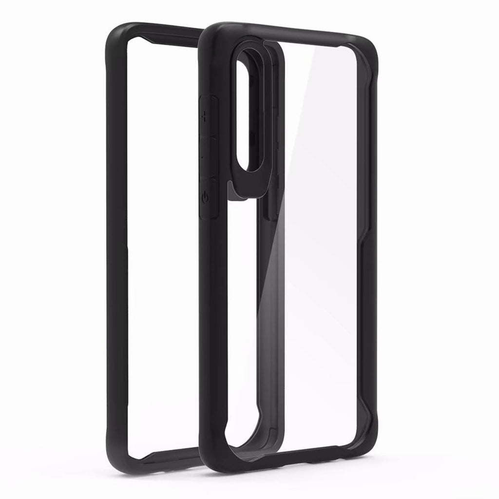 Huawei P30 Soft TPU High Transparency Case Slim Shock-proof Cover Black