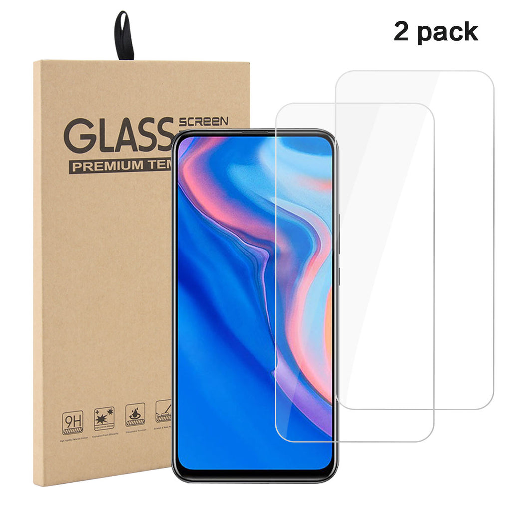 Huawei Y9 Prime 2019 Screen Protector Ultra Thin HD Glass Flim 2 Pack