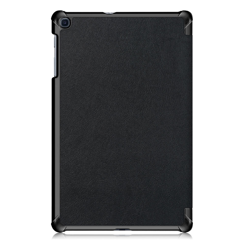 Case for Galaxy Tab A 10.1 2019 SM-T510 Leather Folio Stand Cover with Auto Sleep/Wake Black