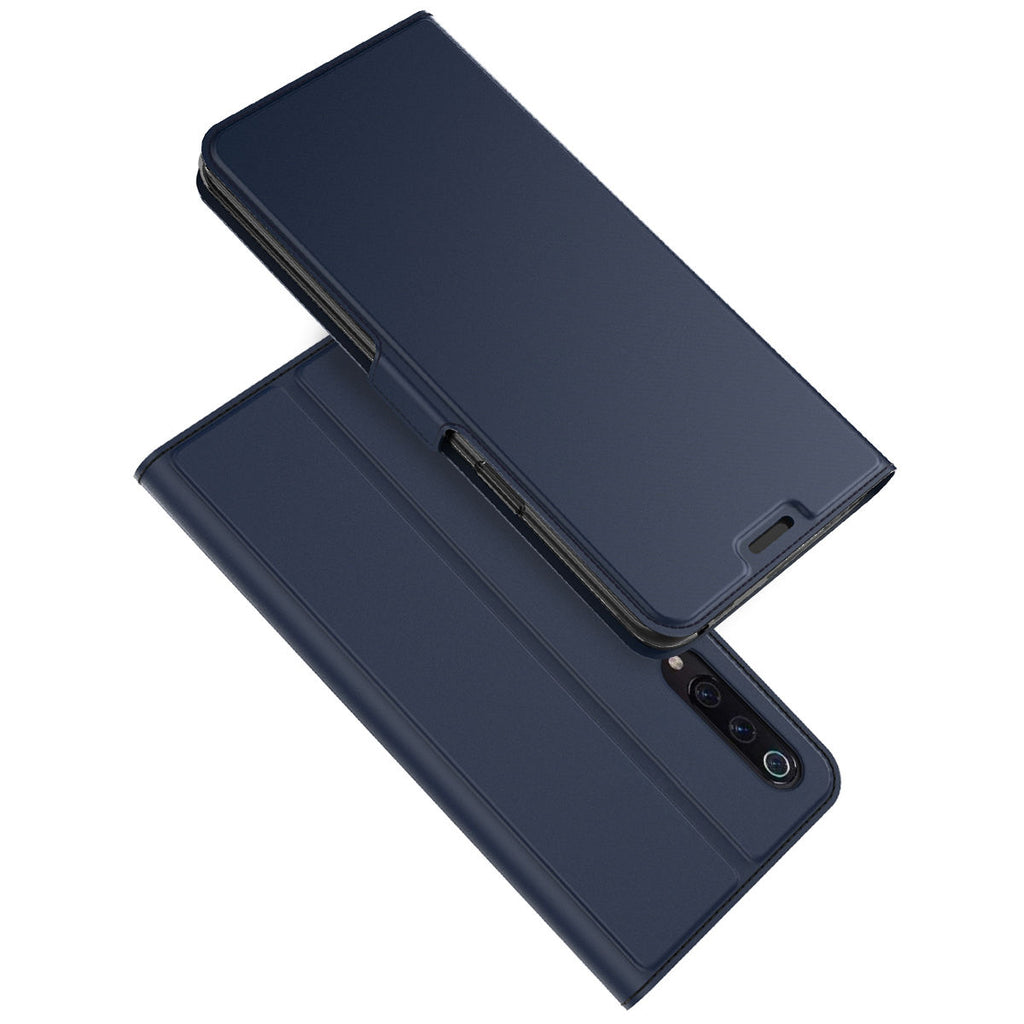 Xiaomi Mi 9 Xiaomi Mi 9 Explore Case Full Body Protection Magnetic Clasp Flip Cover Blue