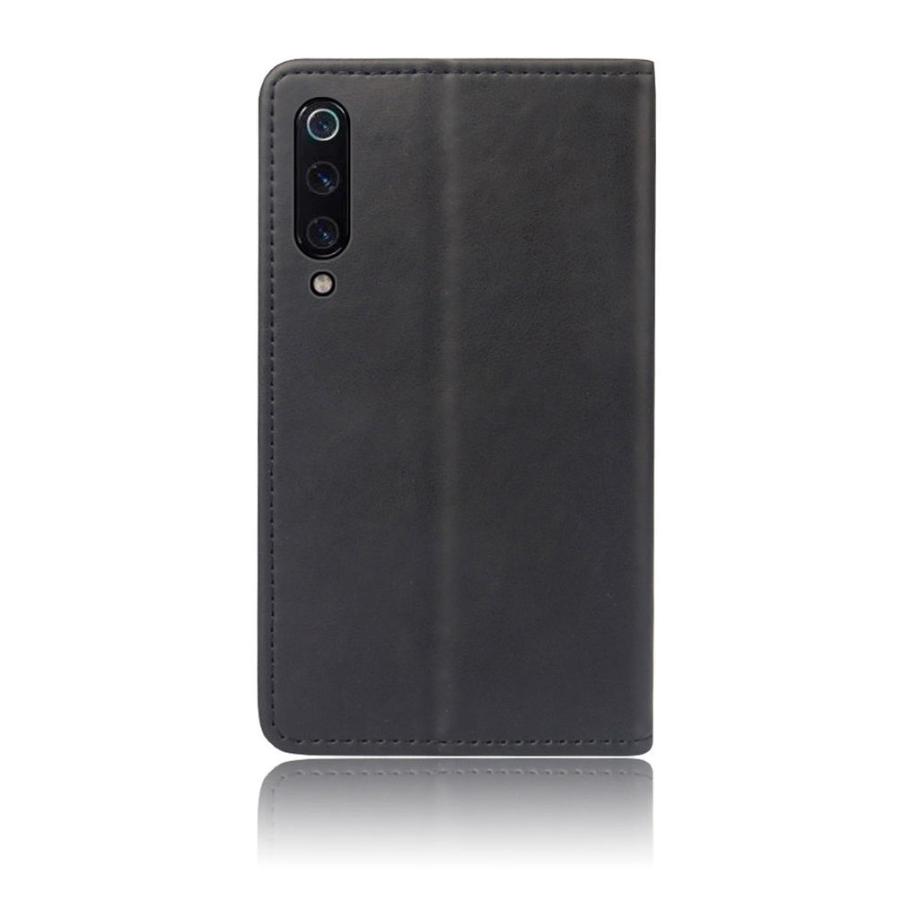 Compatible for Xiaomi Mi 9 Xiaomi Mi 9 Explore Protective Case Card Slots Wallet Cover Black