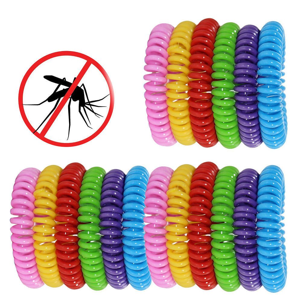 Mosquito Insect Repellent Bracelets 18 Pack Natural for Kids & Adults Pest Control Wristbands