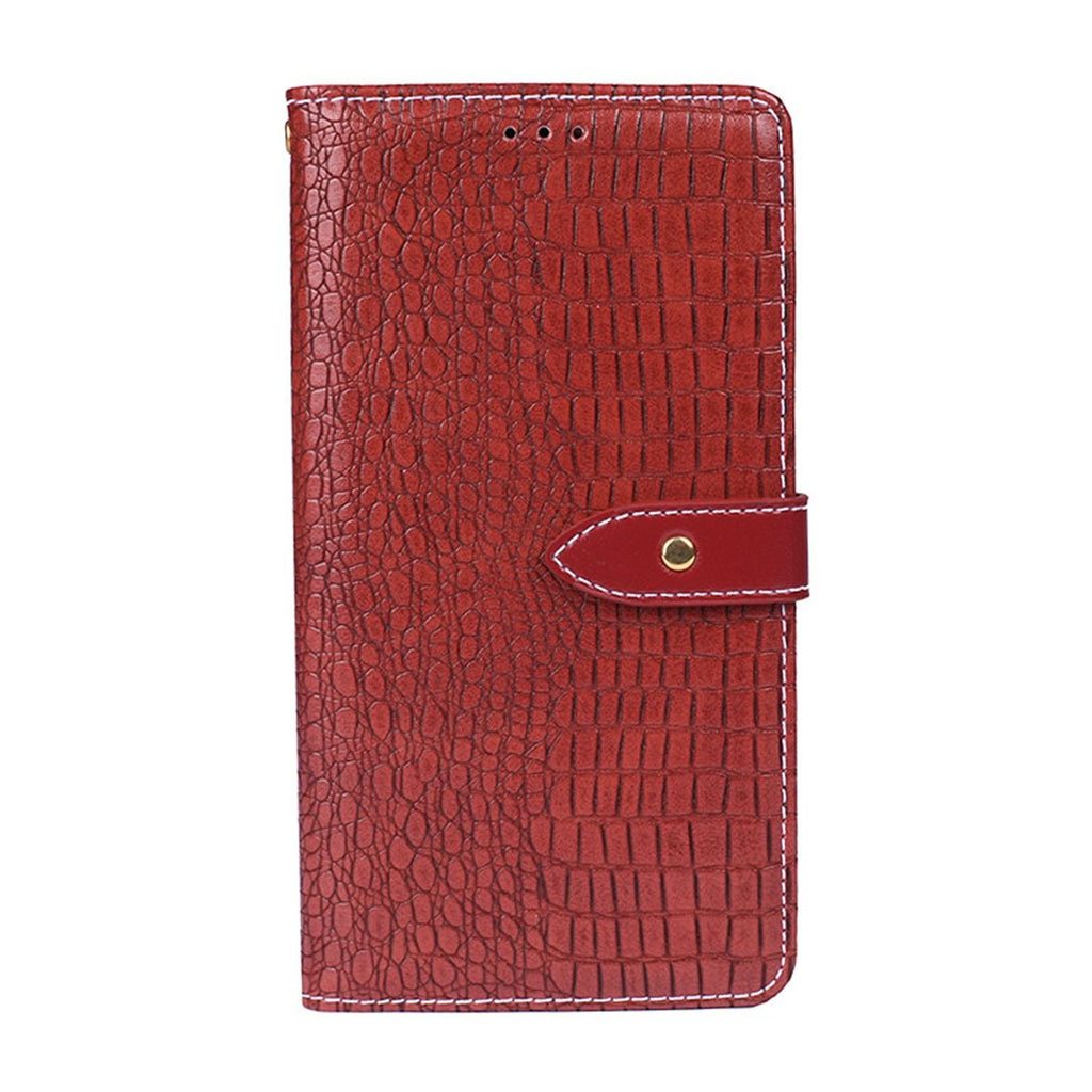 OPPO Reno PU Leather Case Cards Holder Wallet Flip Fold Stand Protective Cover Red