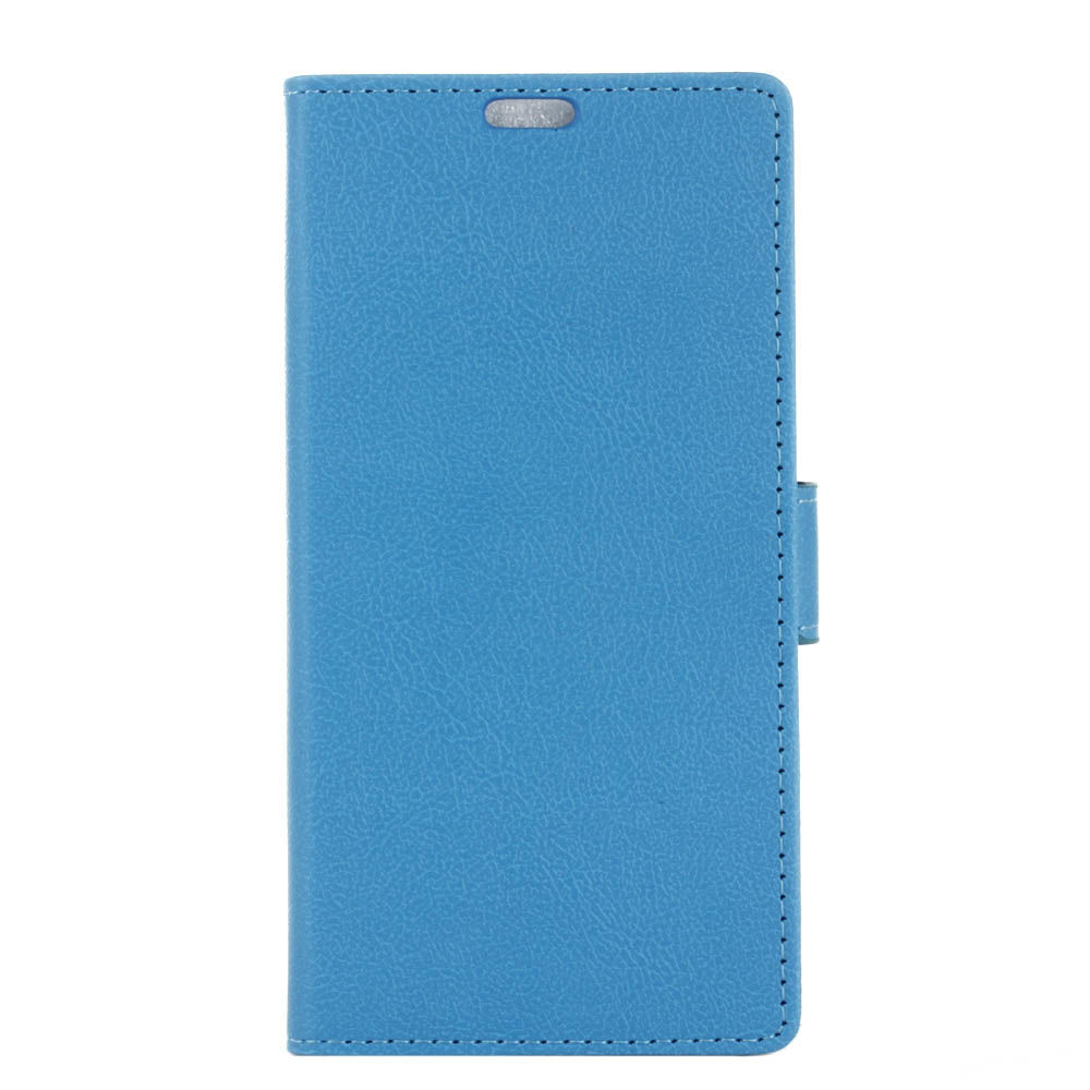 Oneplus 7 Pro Case Leather Flip Wallet Case with Card Slots & Kickstand Light Blue