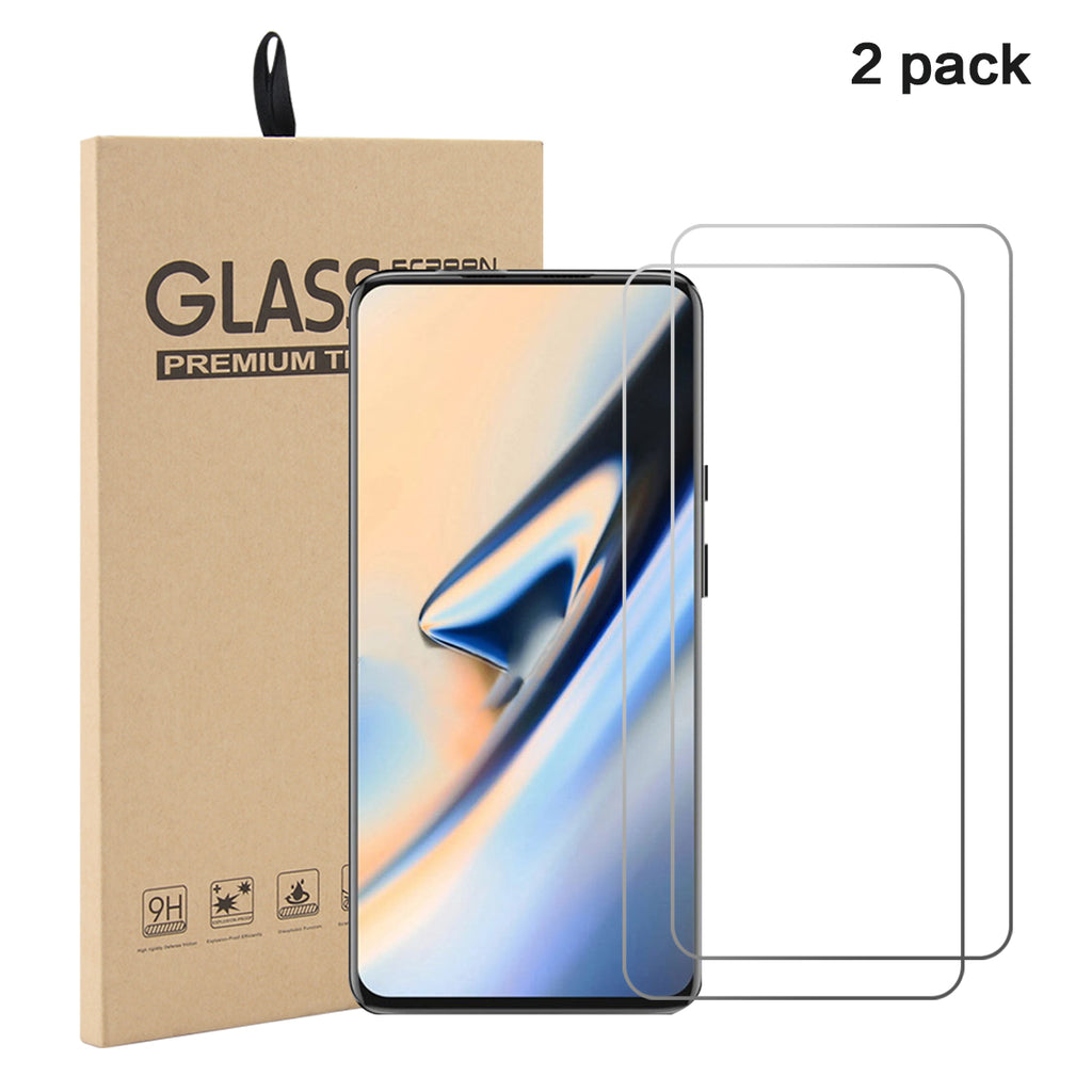 Oneplus 7 Pro Screen Protector Ultra Thin Anti Oil Fingerprints HD Glass Flim 2 Pack