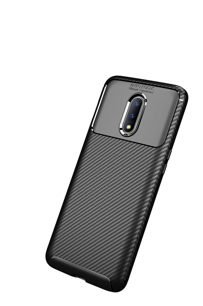Oneplus 7 Pro Case TPU Shock-proof Protected Phone Back Cover Thin Case Black