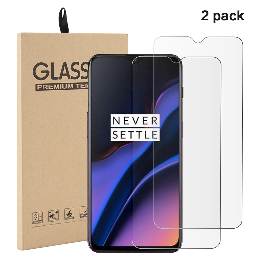 Oneplus 7 Screen Protector Ultra Thin HD Glass Flim Non-full Screen 2 Pack