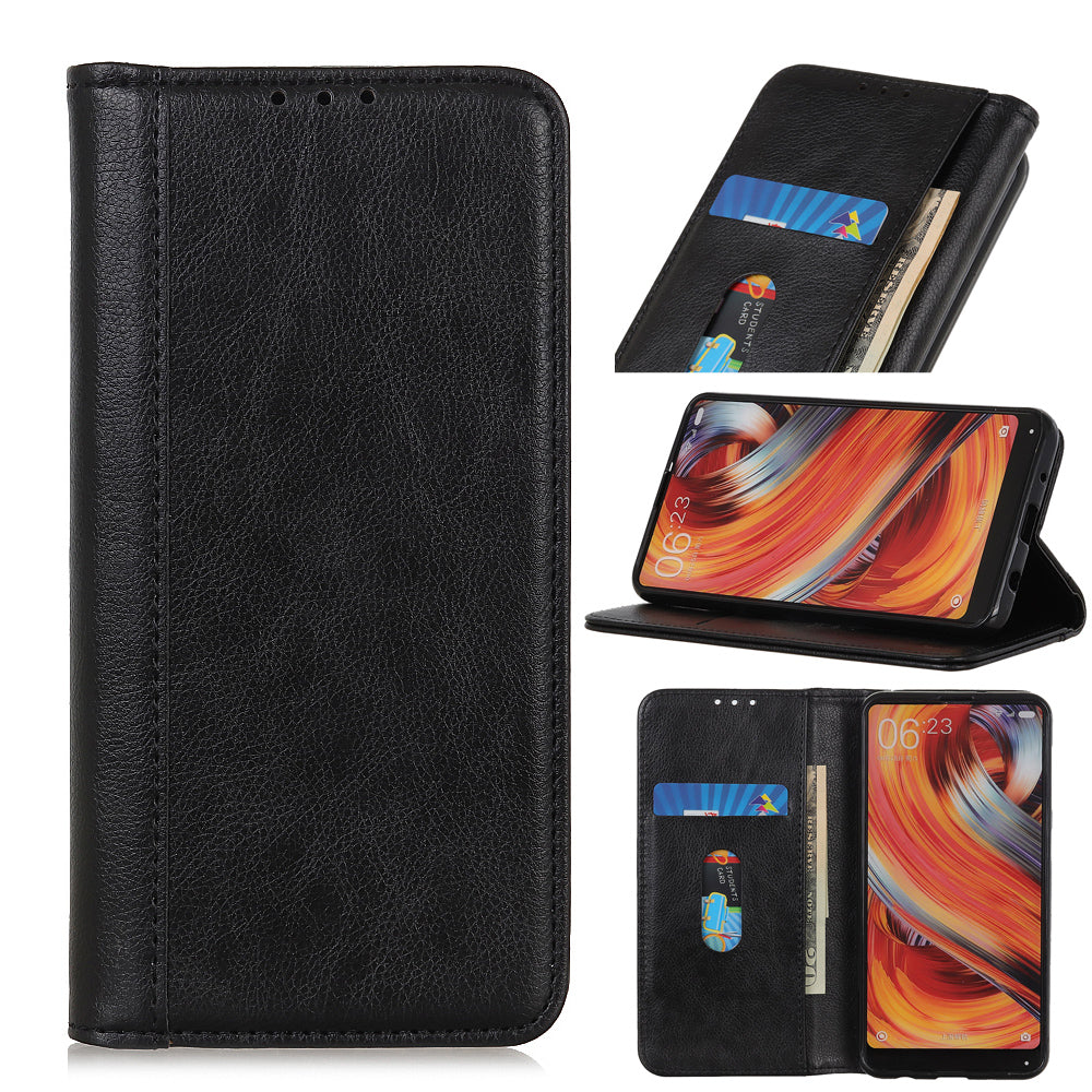 Oneplus 7 Pro Wallet Case PU Leather Flip Folio Case with Card Slot Kickstand Black