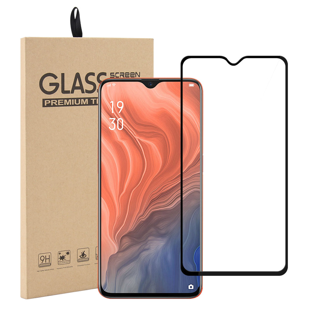 Oppo Reno Z Screen Protector Tempered Glass 3D Touch Anti Scratch Black
