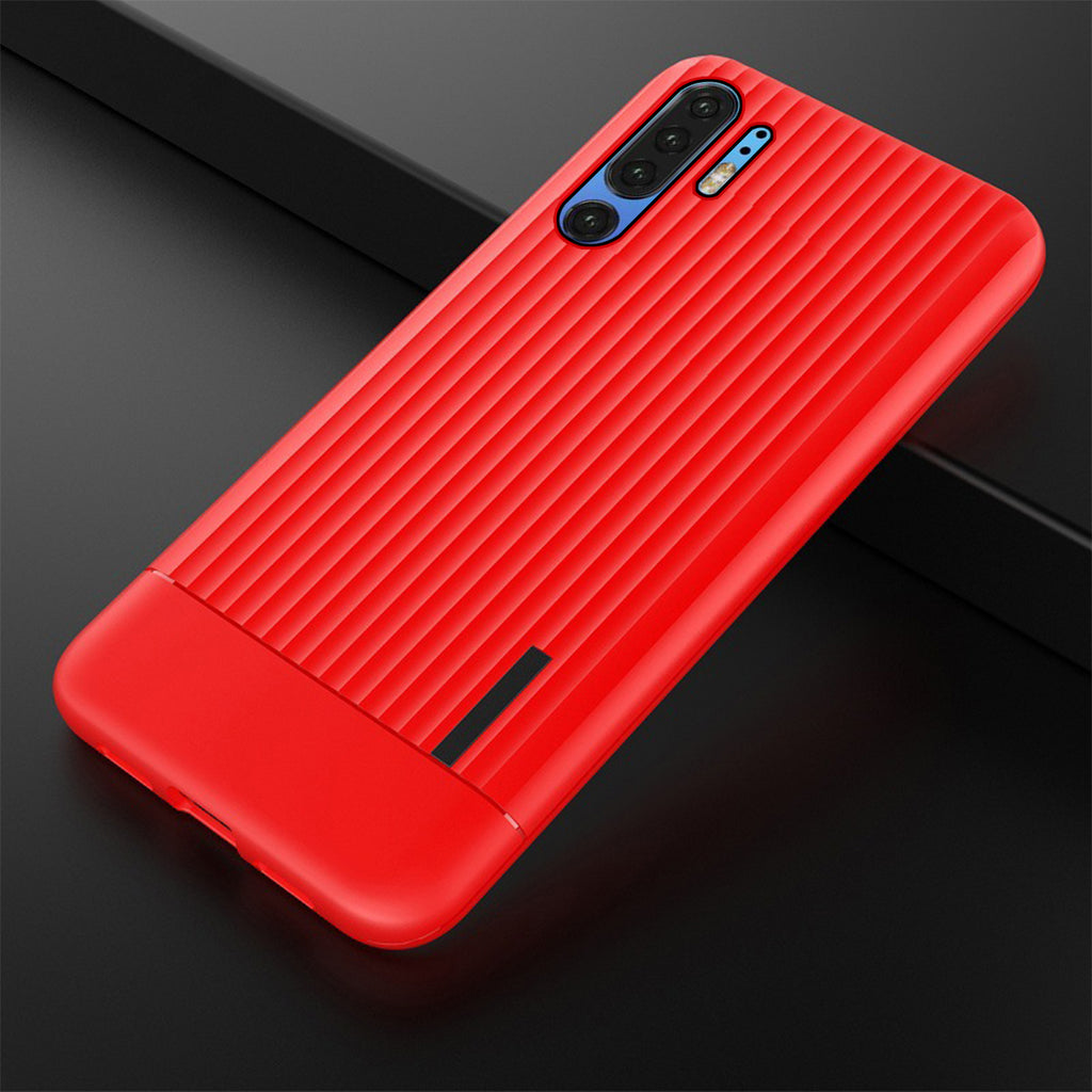 Huawei P30 Pro Case Reinforced TPU Hybrid Cushion Back Cover Red