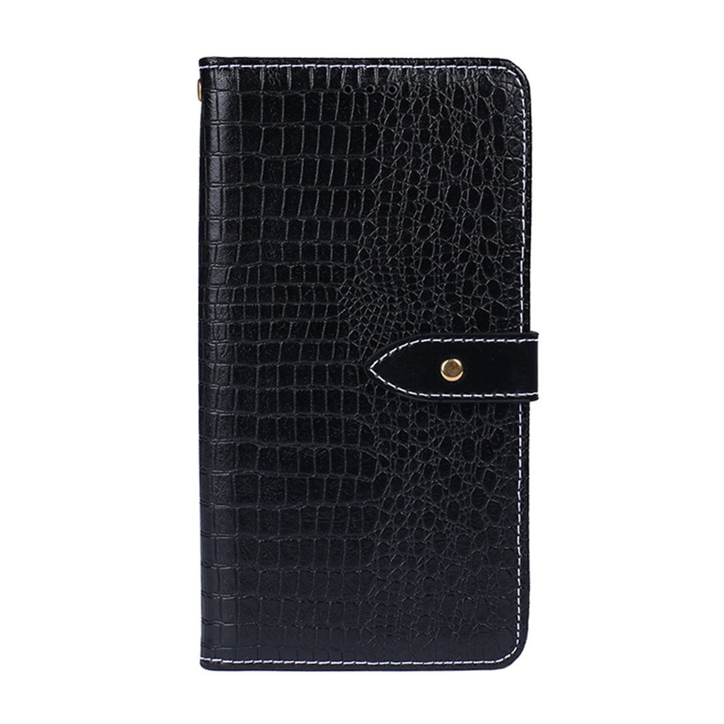 Wallet leather case for pixel 3a with card slots & magnetic closure black