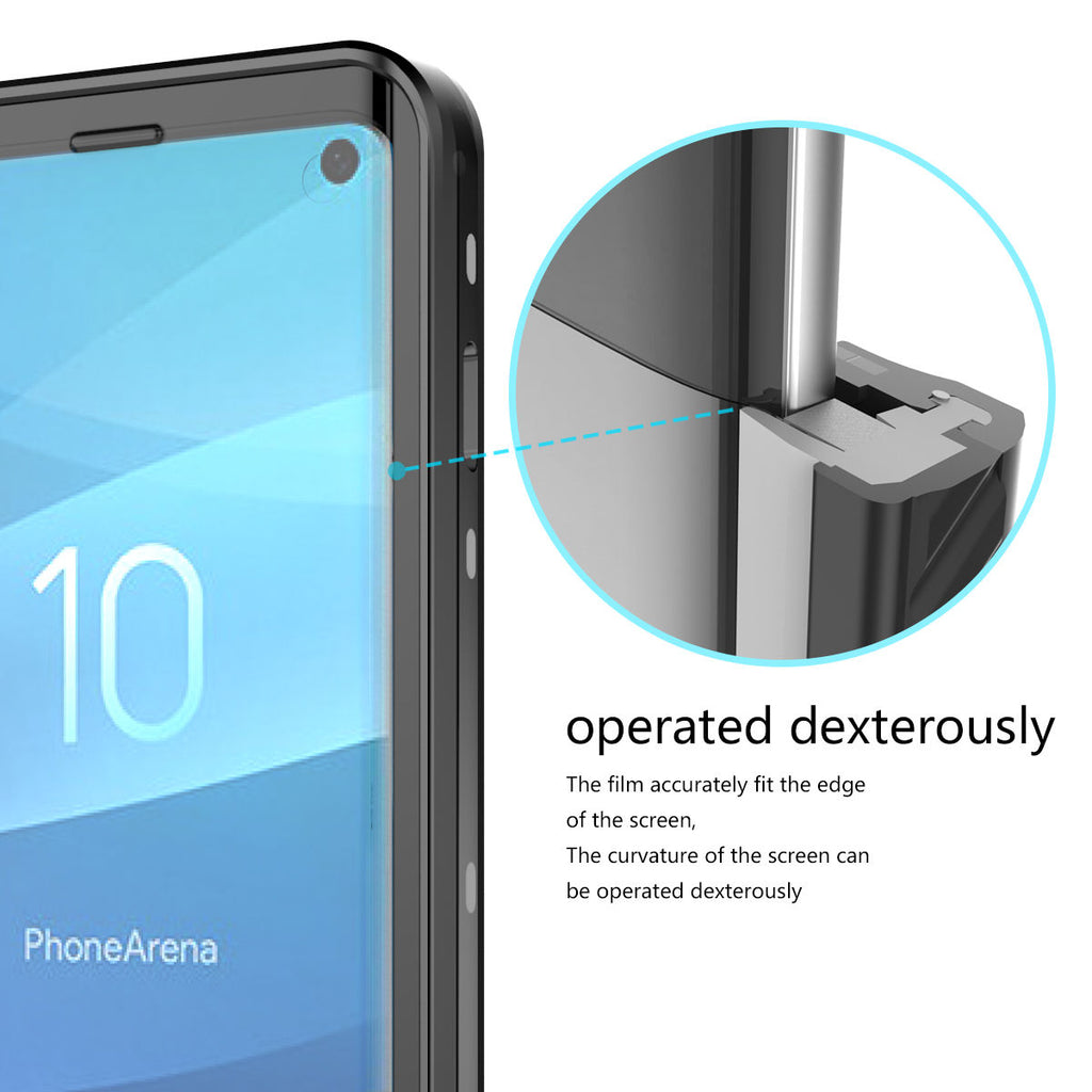 Galaxy S10 Waterproof Case IP68 Certified Built-in Screen Protector with Floating Strap