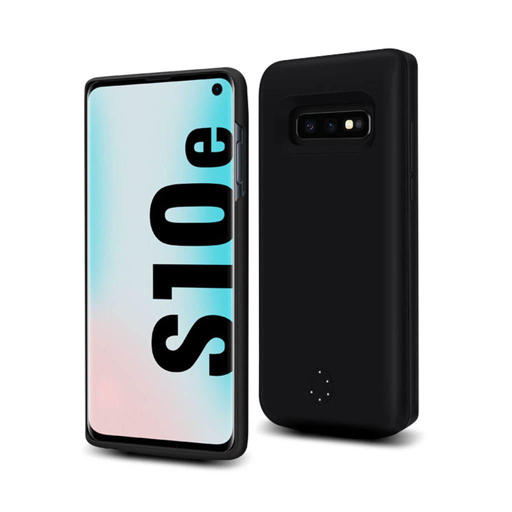 Samsung Galaxy S10e Battery Case 5000mAh Backup Extended Charger Black