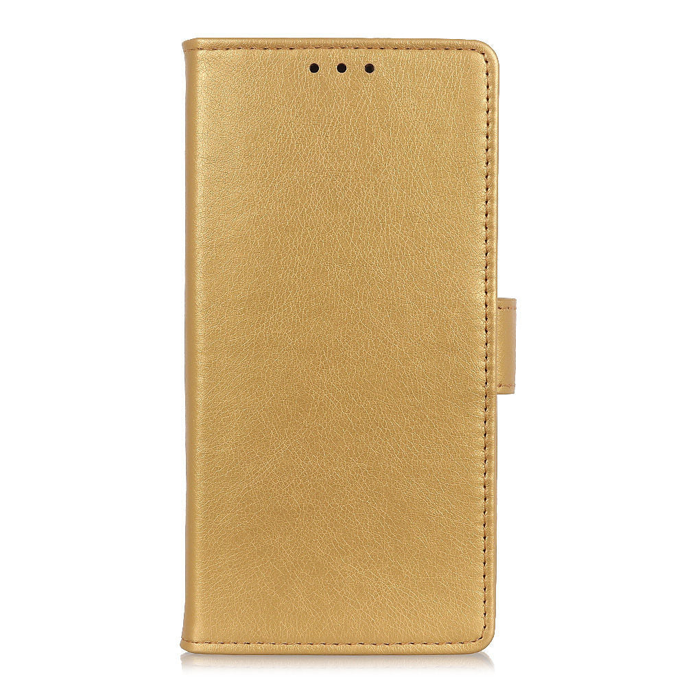 Galaxy A40 Case Samsung Card Slot Kickstand PU Leather Flip Wallet Case Gold