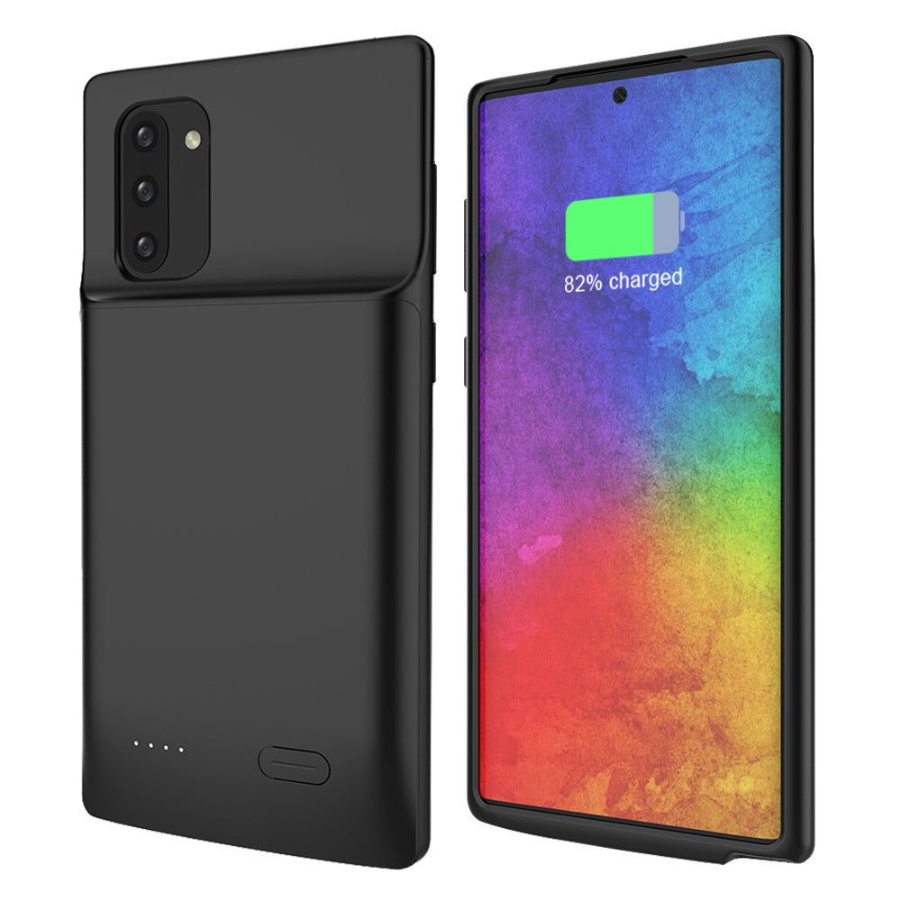 Battery Case for Galaxy Note 10 5200mah Power Bank Rechargeable Battery Covers Black