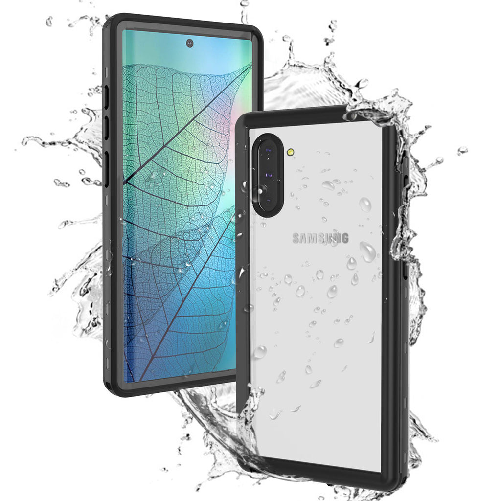 Samsung Galaxy Note 10 Waterproof Case Full Sealed IP68 Certified Clear Underwater Case