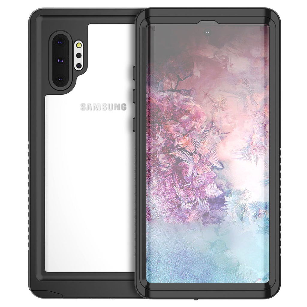 Samsung Galaxy Note 10 plus 5G Waterproof Case Built in Screen Protector IP68 Underwater Case Black