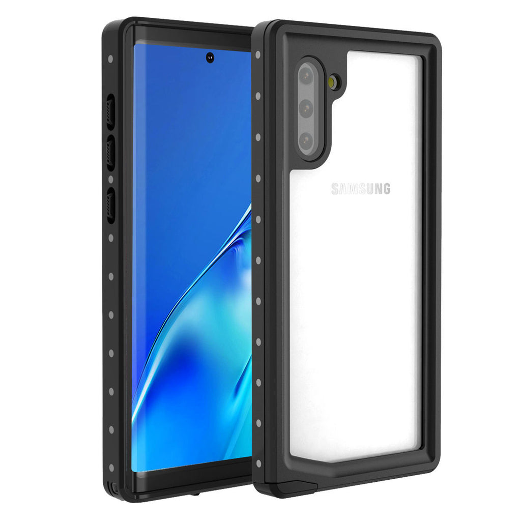 Waterproof Case for Samsung Galaxy Note 10 Built in Screen Protector with Touch ID