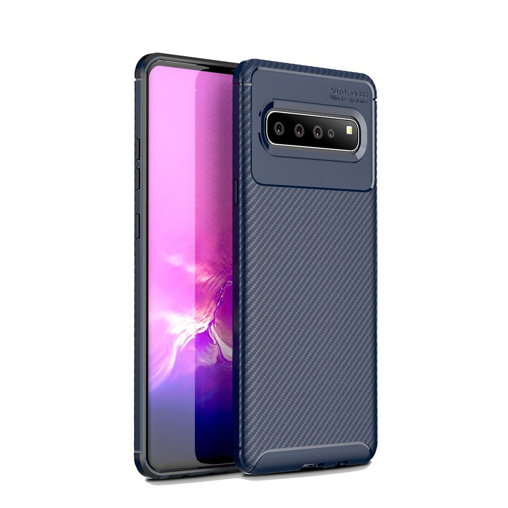 Samsung Galaxy S10 5G Case Ultra Thin TPU Bumper Cover Dark Blue