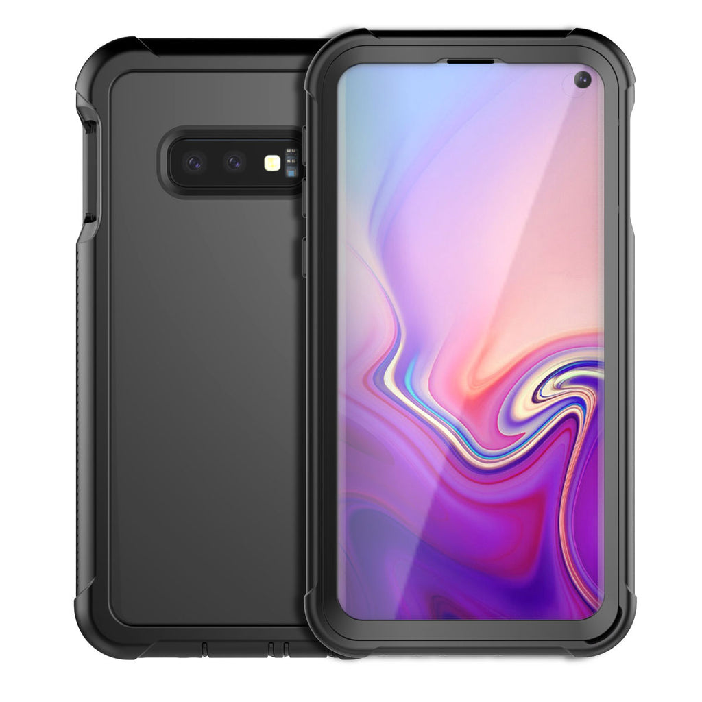 Samsung Galaxy S10 Lite Phone Case with Built-in-Screen Protector Dustproof Shockproof Cover