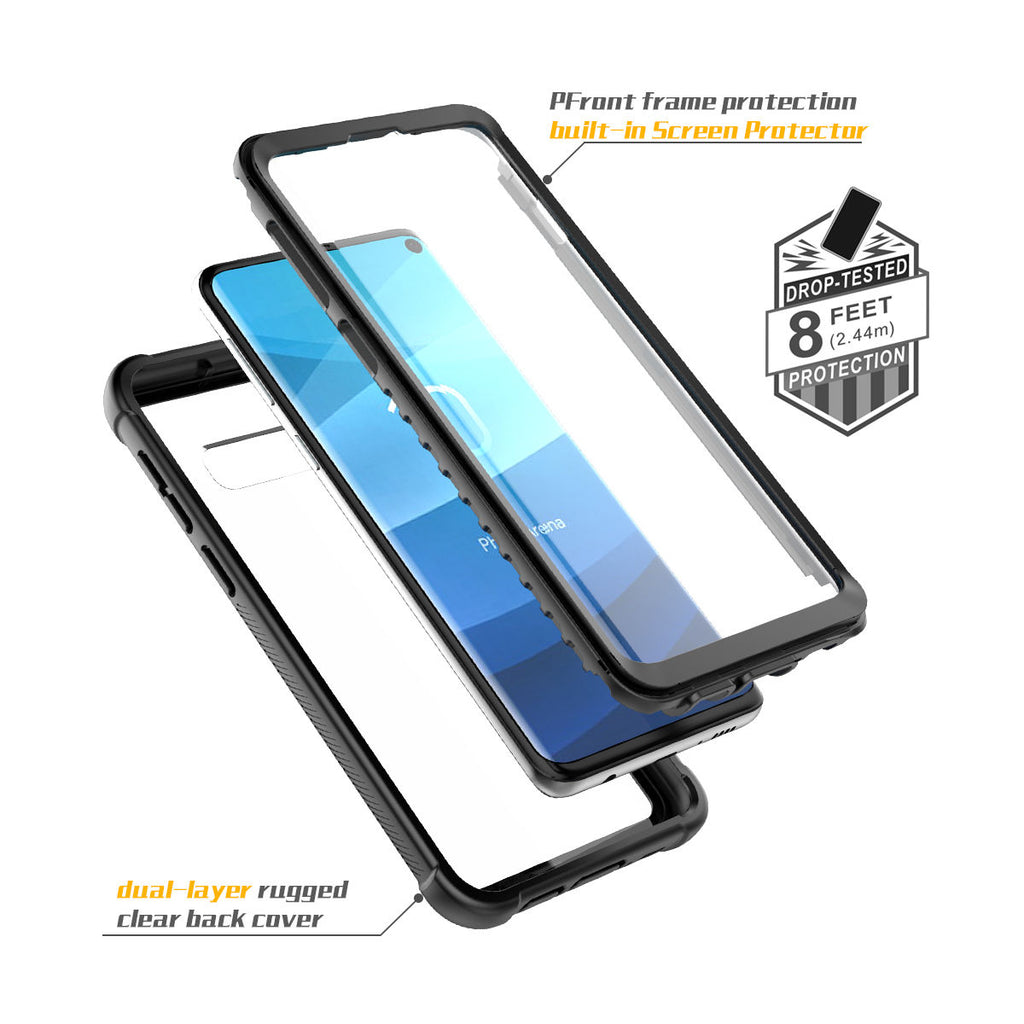 Samsung S10 Phone Case Galaxy Armor Shockproof Clear Hybrid Bumper Cover
