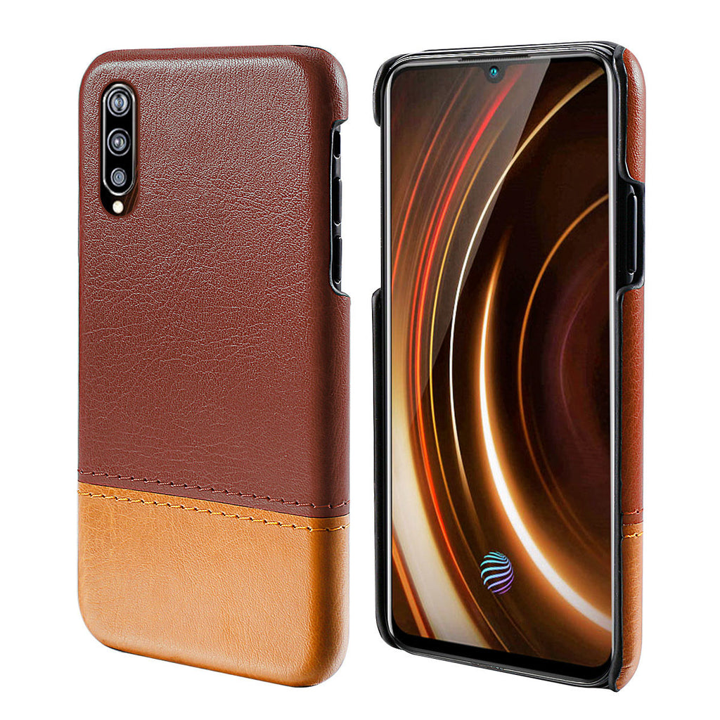 Vivo iQOO Case Shock-Absorbing Scratch-Resistant Cover Brown-light Brown
