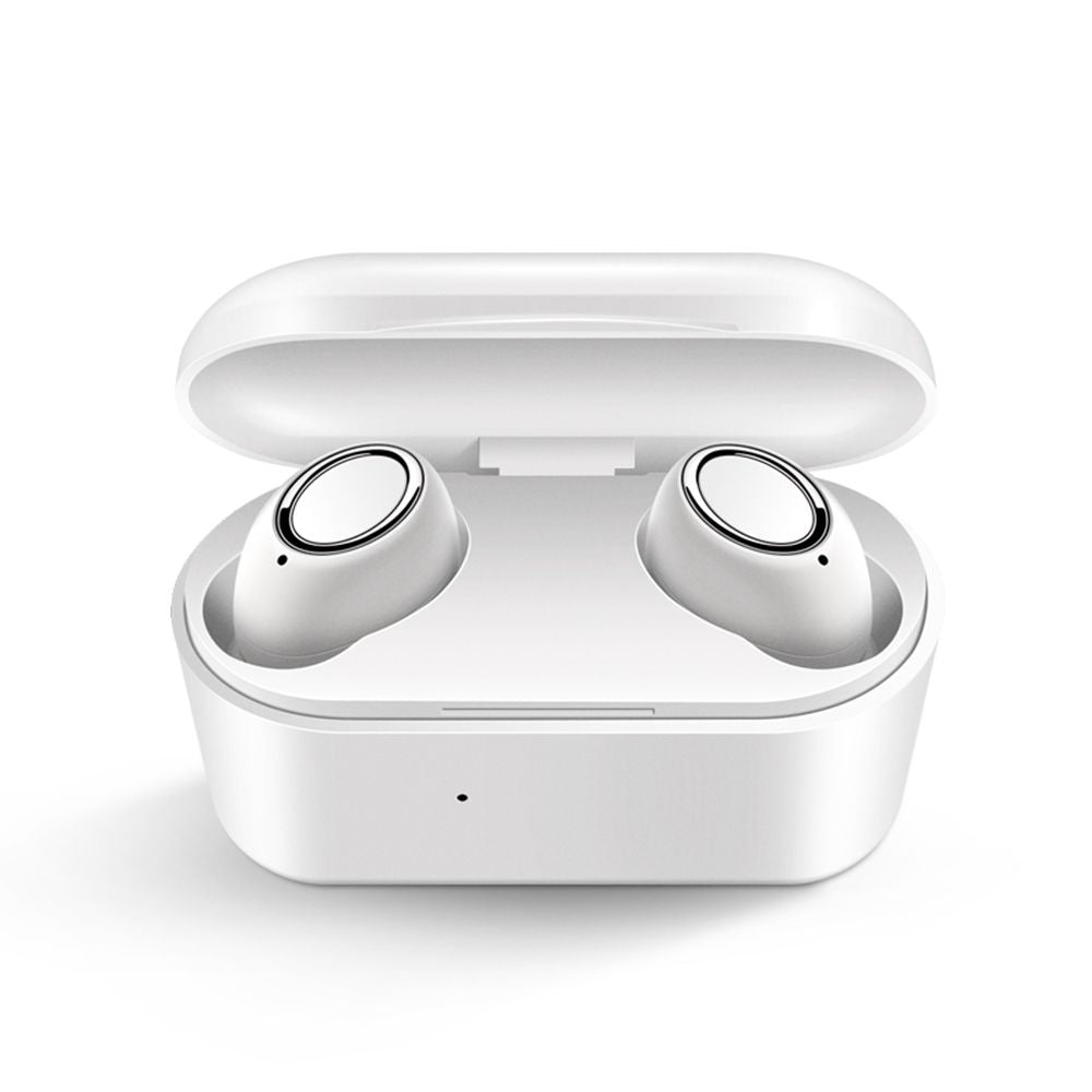 Bluetooth Earbuds 5.0 TWS Ture Wireless Earbuds Stereo Sound with Charging Case White