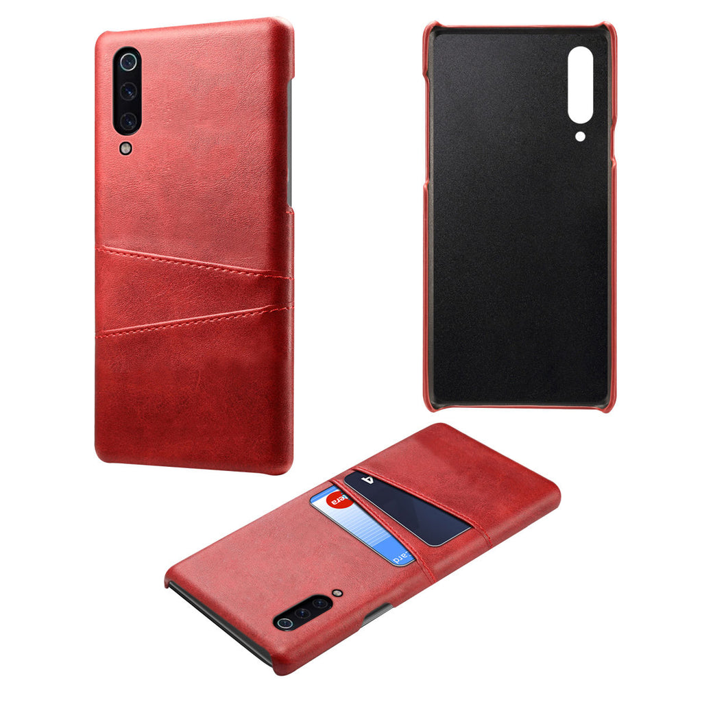 Xiaomi Mi 9 Explore Back Case PC Shockproof Hard Cover Card Slot Red