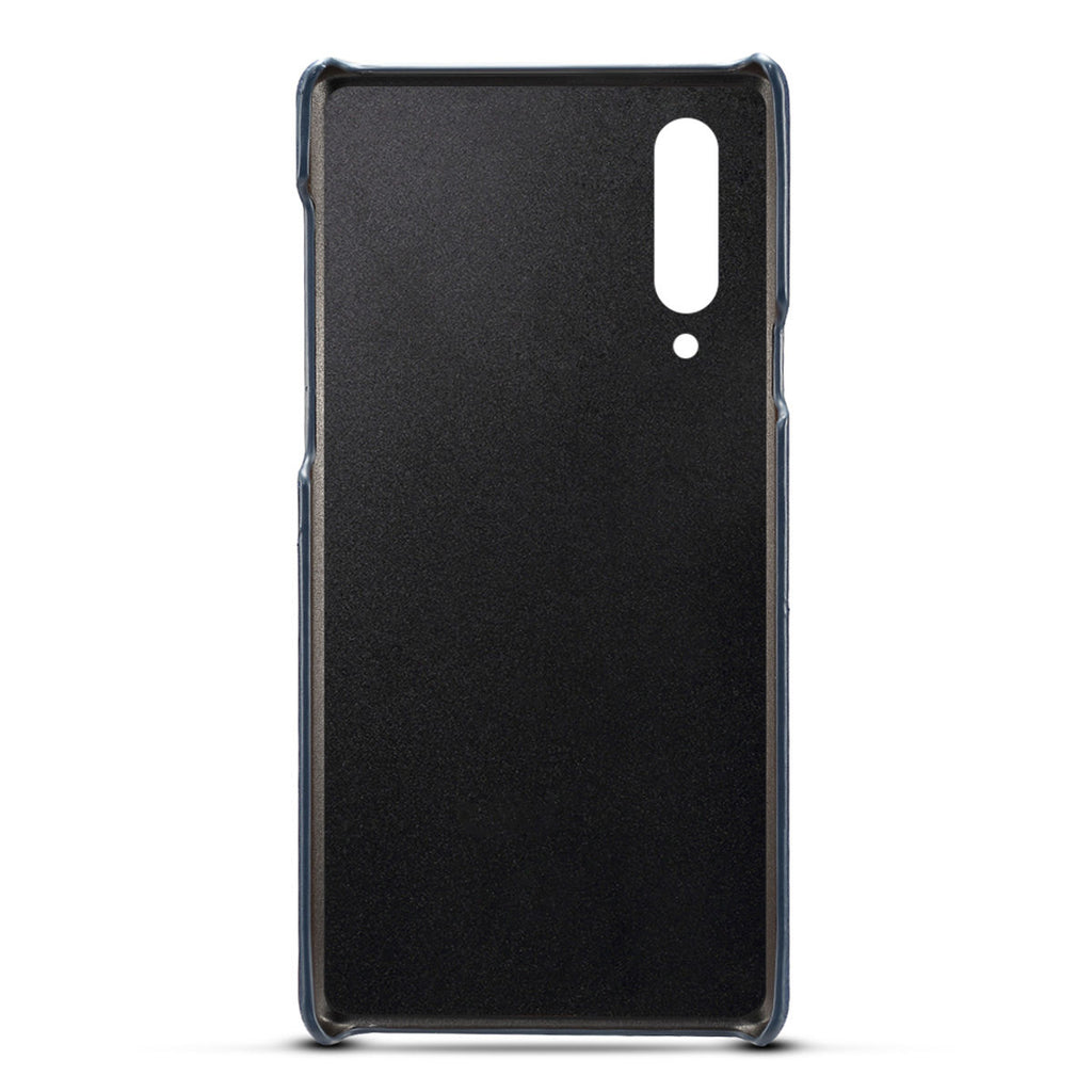 PC Case for Xiaomi Mi 9 Scratch Resistant Card Slot Back Cover Blue