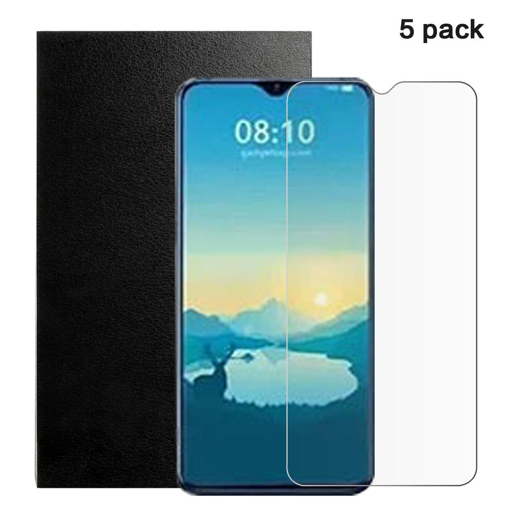 5 Pack Xiaomi Mi 9 Explore Tempered Glass Screen Protector Impact Scratch Resistance