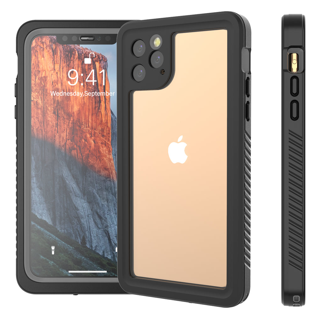 Waterproof Case for iPhone 11 Pro Max Underwater Shockproof Rugged Cover Bumper Sealed Case