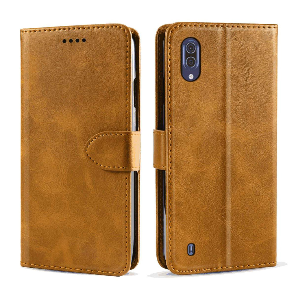 Hisense HLTE217T Leather Case Folio Flip PU Leather Wallet Cover with Kickstand and Credit Slots Yellow
