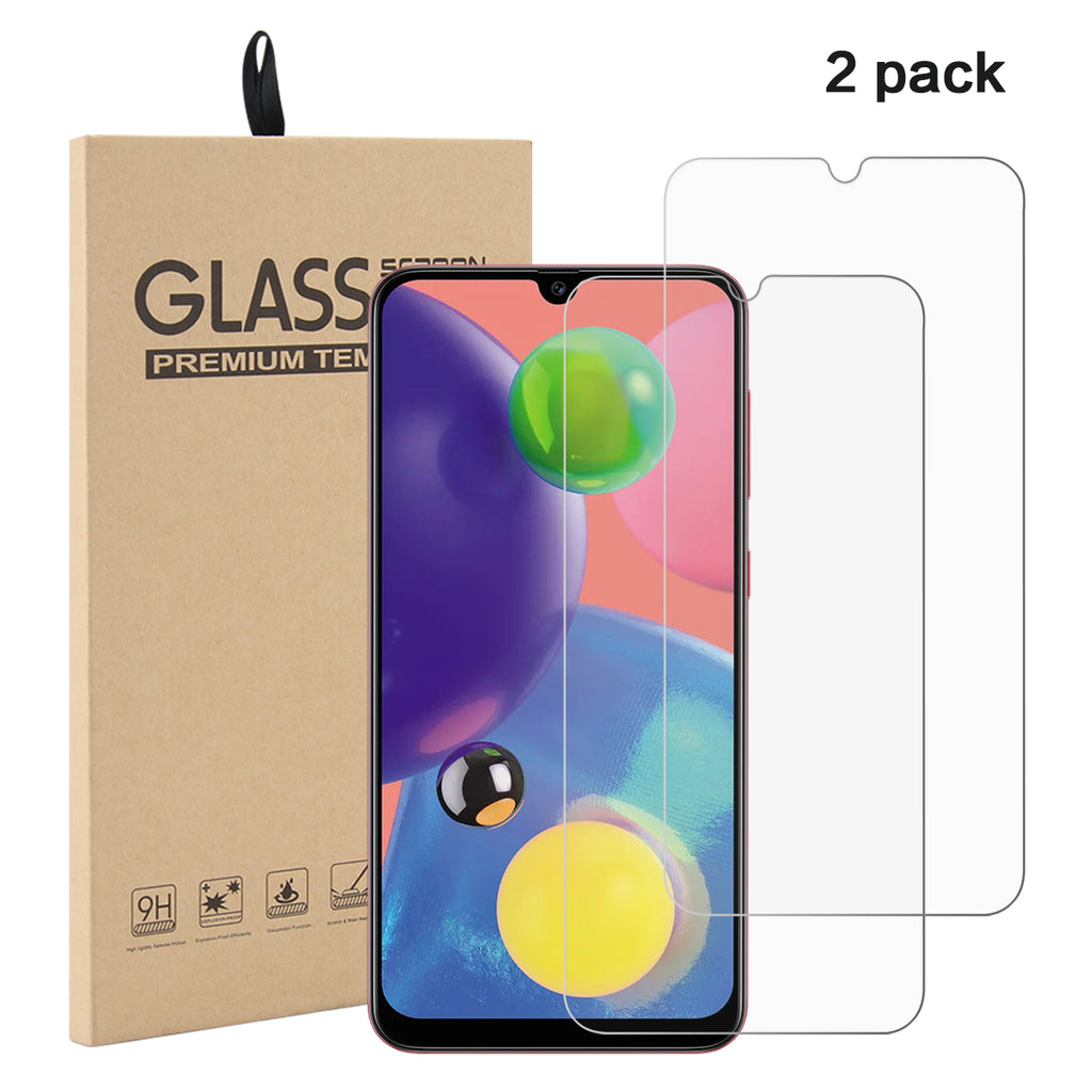 Samsung Galaxy A70s screen protector ultra thin screen glass film anti fingeroprints 2 pak