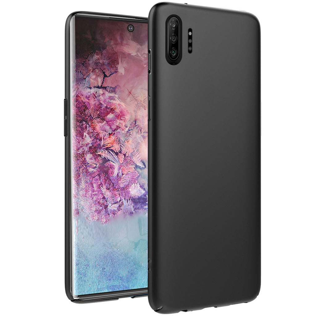 Case for Galaxy Note 10 Plus TPU Bumper Shockproof Phone Cover Black
