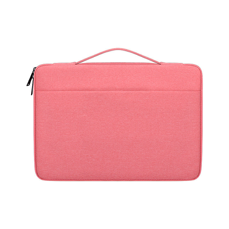 Laptop Sleeve for MacBook Pro 16 Inch 2019 Water-resistant Oxford Cloth Business Notebook Carrying Handbag Pink
