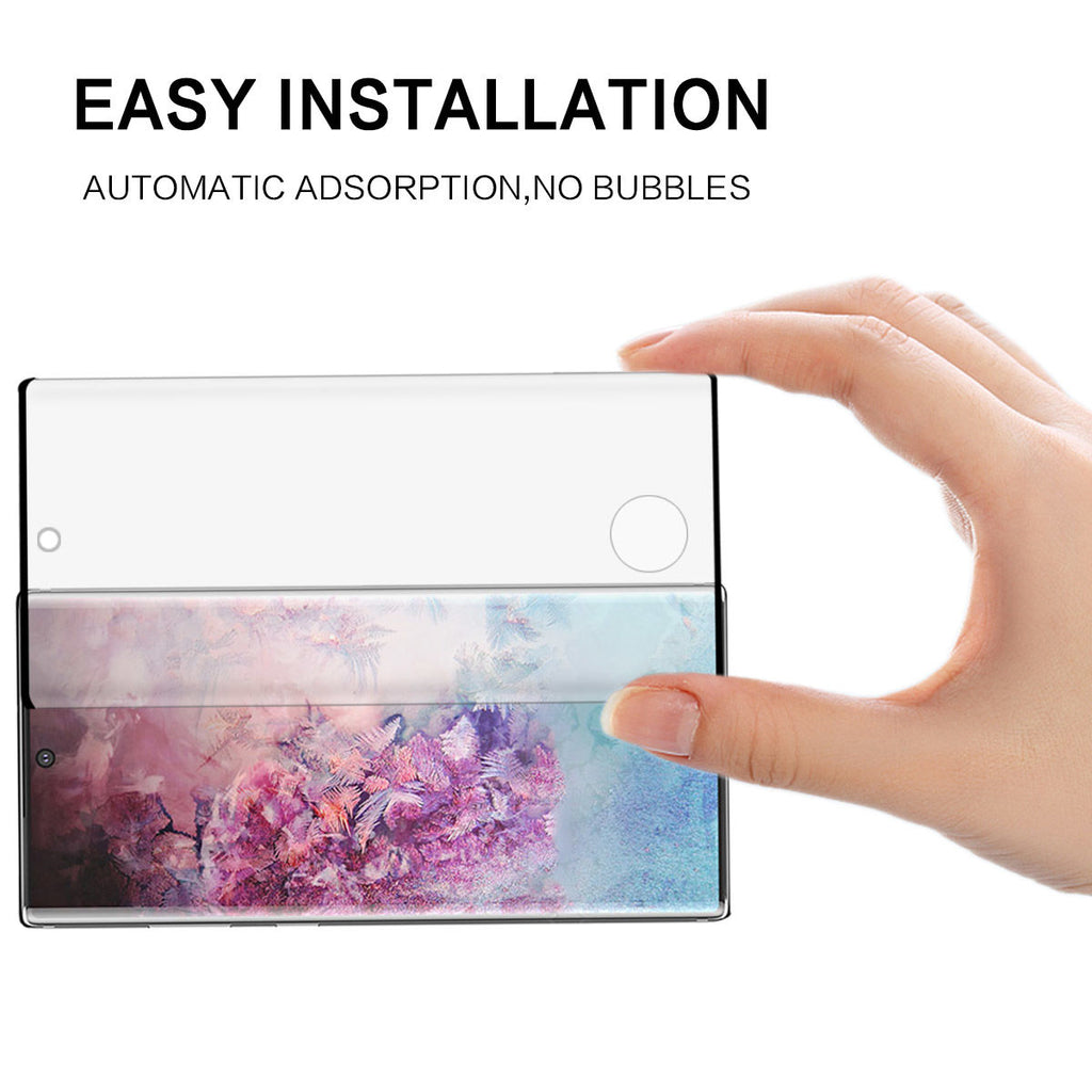 Galaxy Note 10 Tempered Glass Screen Protector Case Friendly HD Clear 1Pack