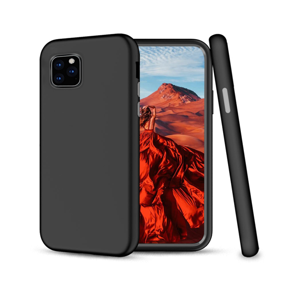 iPhone 11 Pro Case TPU + PC Full Protection Shockproof Ultra Thin Case Black