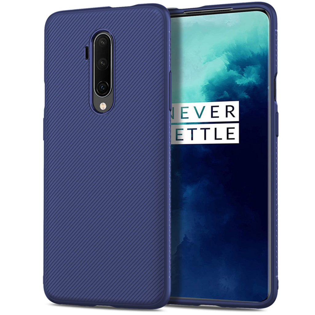 Oneplus 7T Pro Case Lightweight Slim Shockproof Protective Cover TPU Soft Phone Case Blue