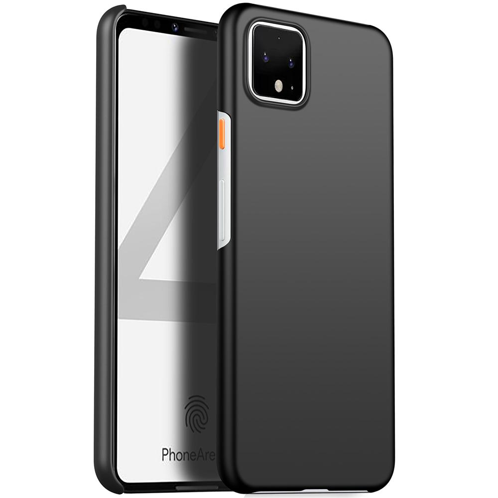 Case for Pixel 4 PC Shockproof Full Protection Case for Google Pixel 4 Black